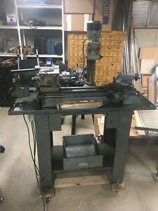 Maximat 7 Lathe mill Combo With Accessories