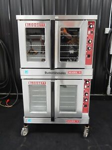Blodgett Double Mark V Electric Commercial Convection Oven Bakery Pizza