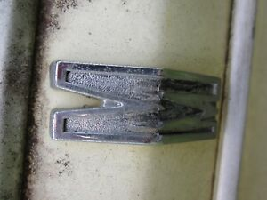 64 Mercury Comet Rear Quarter Letter m 1964