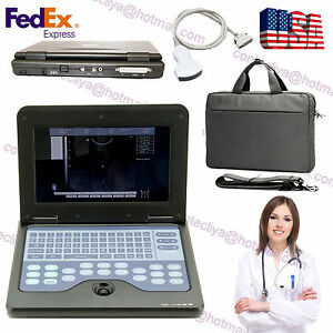 Portable Laptop Machine Ultrasound Diagnostic Scanner 3 5mhz Convex Probe Us Fda