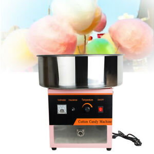 110v Electric Cotton Candy Floss Sugar Commercial Maker Machine Party 1000w Pink