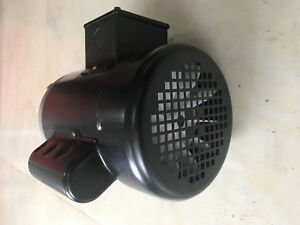 1 2 Hp Electric Motor 1 Ph 1750rpm 5 8 shaft Tefc 115 230 V Agricultural