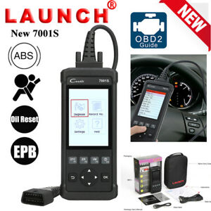 Obdii Function Fault Code Reader Scanner Obd2 Diagnostic Tool Launch Cr7001s Abs
