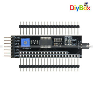 5v 1602 2004 12864 Iic i2c Lcd Serial Interface Mcp23017 Expander For Arduino