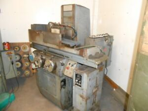 Brown And Sharpe Surface Grinder Electro Magnetic Chuck 230v