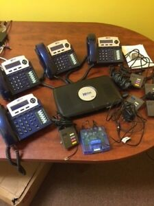 Xblue X16 With Blue 4 Phones Server Cords Record Live Calls More tampa