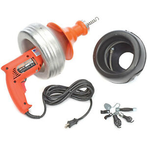 General Wire Super vee Drain Cleaning Machine Includes 2 Cables cutter Set