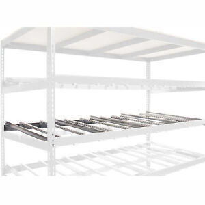 Gravity Flow Carton Rack Additional Level Kit 96 w X 36 d Lot Of 1