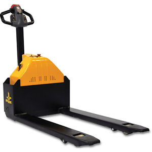 Electric Power Pallet Jack Truck 3000 Lb Capacity Lot Of 1
