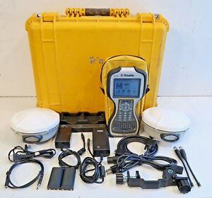 Trimble Dual R8 Model 2 Tsc3 W access Complete 450 470mhz Glonass Rtk Package