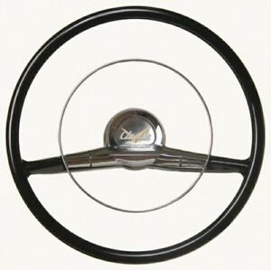 Smaller 15 inch Original Look 1957 Chevrolet Steering Wheel Free Shipping