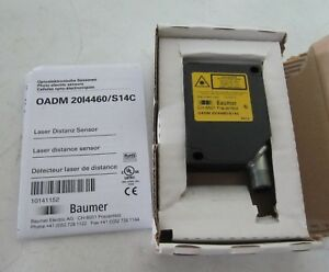 new Baumer Electric Laser Distance Sensor Oadm 20i4460 s14c