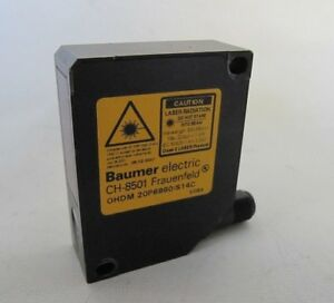new Baumer Electric Laser Distance Sensor Ohdm 20p6990 s14c