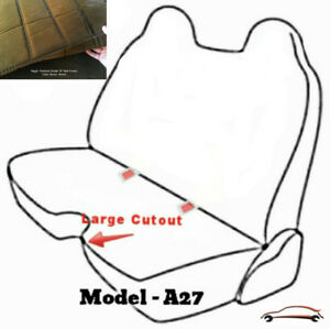 A27 Br Toyota Tacoma Rcab Xcab Large Notched Cushion Front Bench Seat Covers