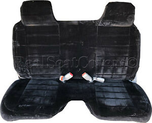 A27 Bk Toyota Tacoma Rcab Xcab Large Notched Cushion Front Bench Seat Covers