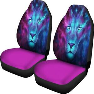 Lion Car Seat Covers Animal Print Universal Fit