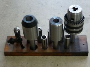 Clausing 8520 8525 Milling Machine Original Collet Rack 646 002 With Collets