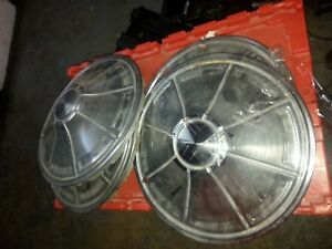Plymouth Duster 1973 Factory Oem Hub Caps
