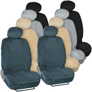 Scottsdale High End Front Car Seat Covers Low Back Bucket Style Seats 4pc