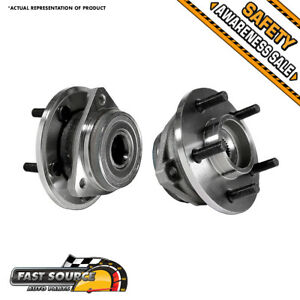 2 Front Wheel Bearing Assembly Pair For Jeep Cherokee Wrangler Xj Tj 2wd 4wd