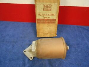 1949 51 Ford Flathead 6 Cylinder Oil Filter Assembly Nos Ford 618