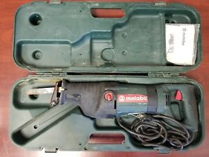 Metabo Pse 1200 Reciprocating Saw In Case C x