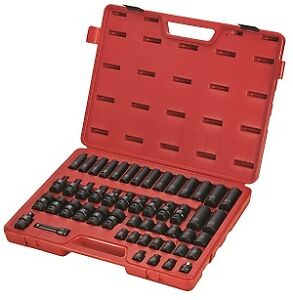 Sunex Tools 3351 51 Piece 3 8 Drive Metric Master Impact Socket Set