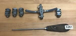 Synthes 390 010 Large Combination Clamp 314 75 Driver 390 005 Lot 5361