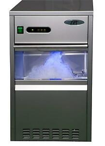 Spt Szb 20 Automatic Flake Ice Maker 66 lb Stainless Steel