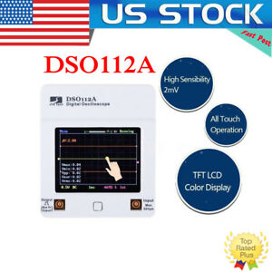 Dso112a Handheld Pocket Digital Storage Oscilloscope W Screen 2 4inch Tft Touch