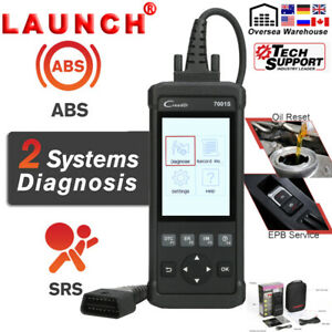 Launch Cr7001s Obd2 Car Diagnostic Scanner As Crp123 Vii Abs Srs Airbag Asb Oil