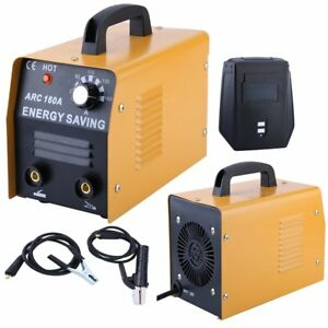 Welding Machine Commercial Mig Arc Dc 160a 230v Flux Core Welder Gas No Gas Be