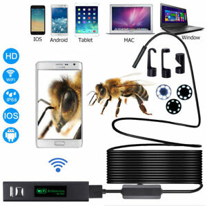Wifi Waterproof Ip68 Endoscope Inspection Camera Hd Iphone Android Pc