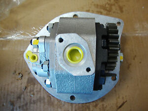 5000 5340 5900 7000 Ford Tractor Hydraulic Pump Assembly Gear Style