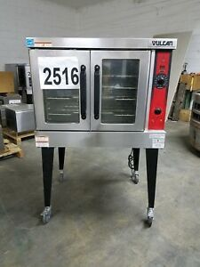 2516 Use S d Vulcan Vc4gd Series Solid State Natg Convection Oven model vc4gd