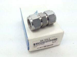 Swagelok C20 1210 6 Tube Fitting Union 3 4 In Tube Od Alloy 20