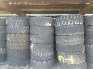 Lot Of A 140 Off Road Tires Michelin Xml 395 85r20 Tires