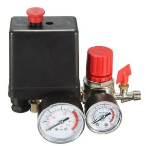 Air Compressor Pressure Switch Control 7 25 125 Psi 15a 240v Adjustable Valve