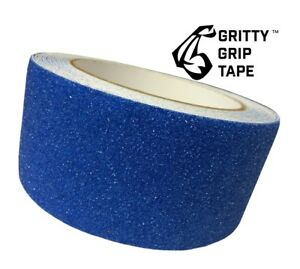 Gritty Grip Tape Anti Slip Traction Tape 2 X 196 Blue