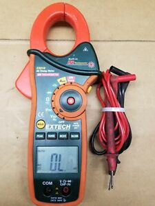 Extech Ex810 True Rms Ac dc Clamp Meter Built In Ir Thermometer