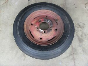 Farmall Cub Ihc Front Rim Wheel And New Tire