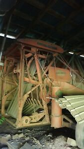 Antique Farm Equipment Allis Chalmers Roto Baler Hay Ac All Crop