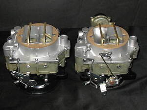 1957 1961 Dual Quad Carter Wcfb Carburetors Corvette Chevy 283 270hp 2613s 2614s