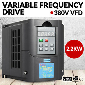 3hp 2 2kw Variable Frequency Drive Vfd Single Phase Perfect Motor Speed New