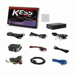 Kess V2 V5 017 Obd2 Auto Car Truck Ecu Programmer Tool No Tokens Limitation Pc