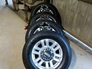 4 2017 2018 Ford F250 18 Painted Alloy Wheels And Continental Tires Bb1016e