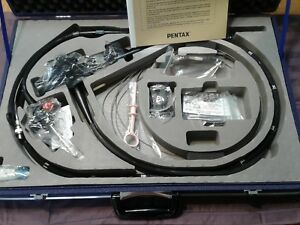 P1 Colonoscope Pentax Fc 38lh Fiberoptic Case Manual 30 Day Warranty 5 16