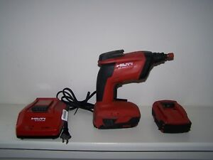 Hilti Sd4500 a18 Cordless Drywall Driver Screwdriver With 2 Battery