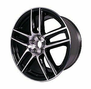 Ford Racing M1007dc199lg Mustang Boss 302s Black Front Wheel W machined Face