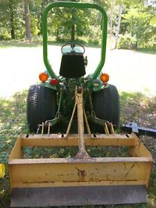 John Deere 650 Compact Tractor Low Hours Runs Great With Nice Brush Hog deal